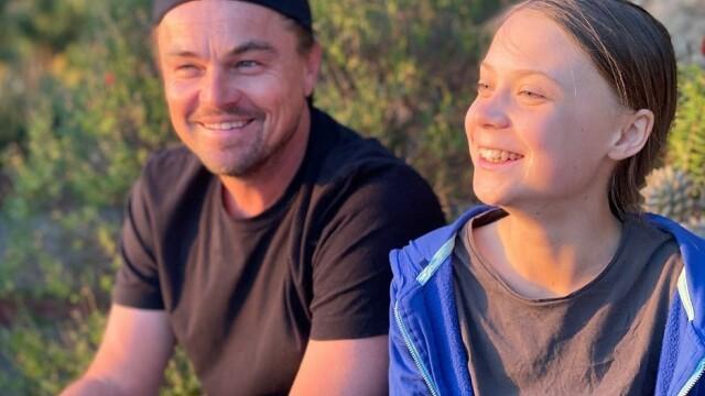 Leonardo Di Caprio o susţine pe Greta Thunberg. Actorul o numește \