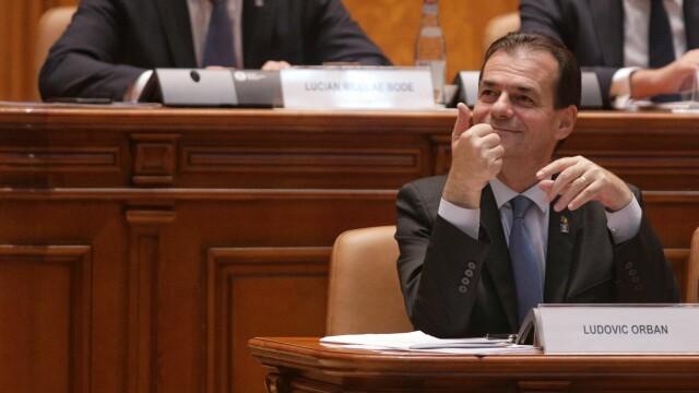 Guvernul Orban, învestit de Parlament