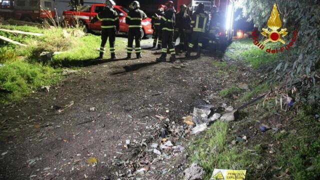 Explozie la un depozit de artificii din Sicilia. Cel puțin trei persoane au murit - Imaginea 6