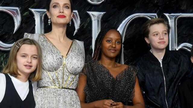 Cum arată fiica Angelinei Jolie și a lui Brad Pitt după tratamentul pentru schimbarea de sex - Imaginea 4