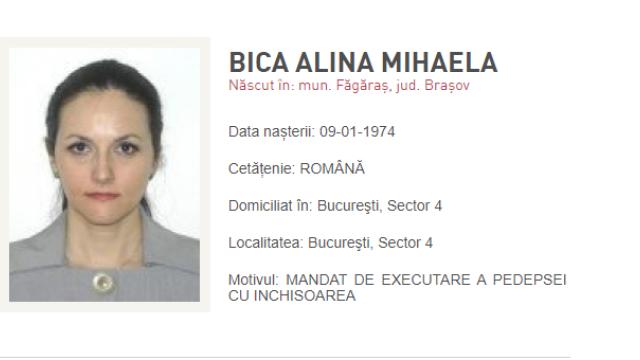 Alina Bica, condamnată definitiv la 4 ani de închisoare cu executare, a fost prinsă de poliţişti în Italia - Imaginea 2
