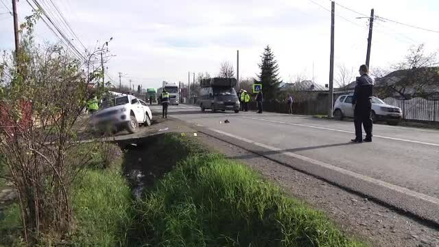 Două femei care mergeau să-și ia copiii de la grădiniță, lovite de o mașină în Dâmbovița
