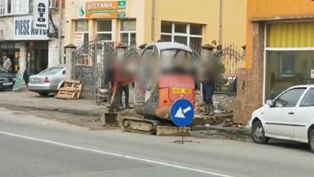 Polițist din Lugoj, înjunghiat de un trecător căruia i-a cerut să-şi pună masca de protecție