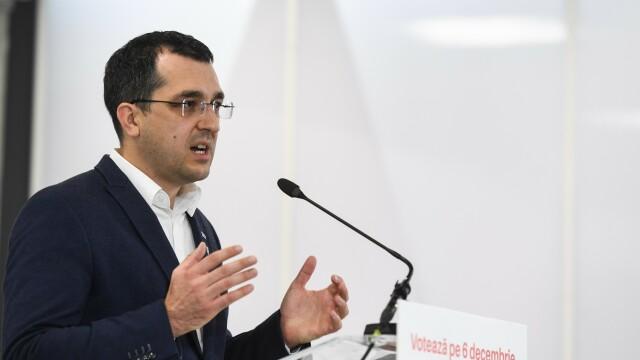 Vlad Voiculescu: Principala problemă în perioada următoare este cantitatea mică de vaccin