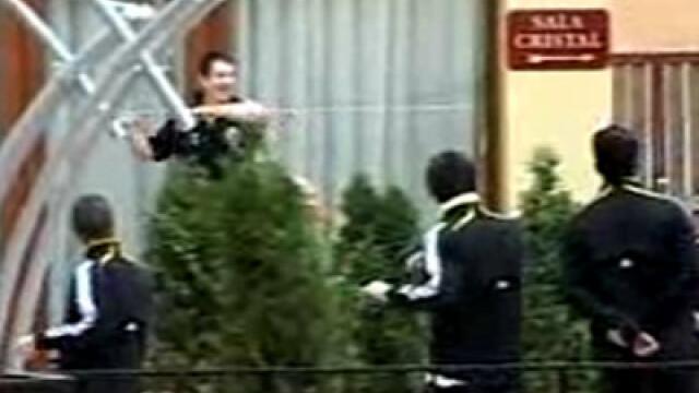 Fotbalistii de la Chelsea s-au antrentat pe terasa hotelului!