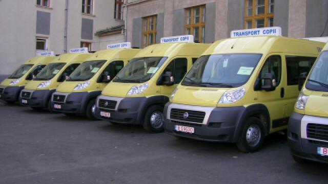 Microbuzele pentru elevi ajung cu intarziere