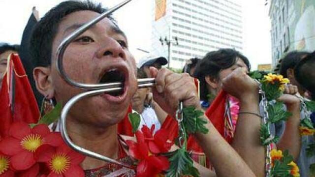 Thailanda: S-a dat startul festivalului vegetarienilor