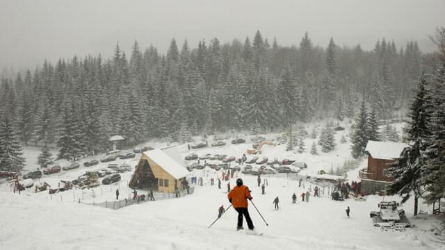Valea Prahovei a fost invadata de turisti rusi, moldoveni si ucraineni pentru Craciunul pe rit vechi