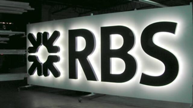 Royal Bank of Scotland, nationalizata cand intra pe piata romaneasca