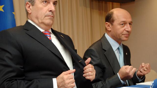 Scandal in Senat, din cauza neinvitarii presedintelui Traian Basescu la o festivitate: \