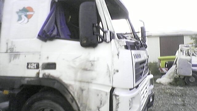 accident camion