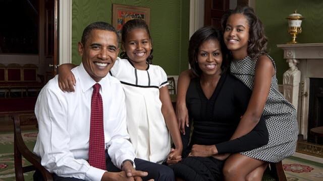 Familia Obama, la primul album foto publicat pe internet! GALERIE FOTO - Imaginea 1