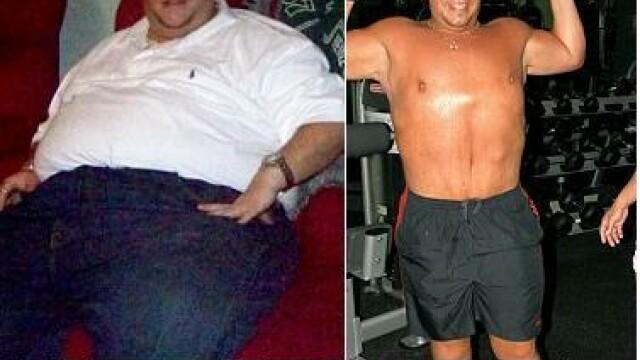 INCREDIBIL! A slabit 90 de kilograme cu o dieta cu ciocolata!