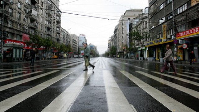 Circulatie in zi de miting, in Bucuresti