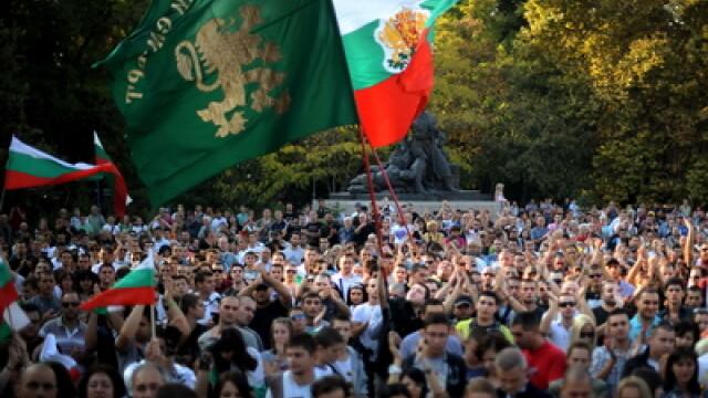 Peste doua mii de persoane au protestat la Plovdiv, Bulgaria: