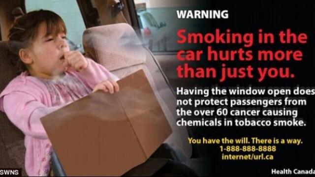Cea mai socanta campanie anti-fumat. Bolnavi de cancer pe patul de moarte, pe pachetele de tigari - Imaginea 3