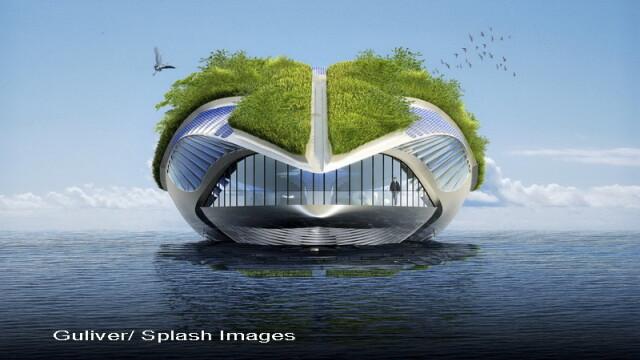 Casa viitorului. Uite cum arata locuinta SF la care Jules Verne nu s-a gandit - Imaginea 1