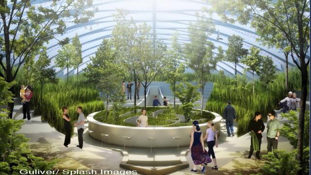 Casa viitorului. Uite cum arata locuinta SF la care Jules Verne nu s-a gandit - Imaginea 3
