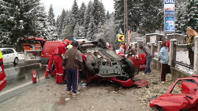VIDEO. Imaginile accidentului provocat de Serban Huidu - Imaginea 2