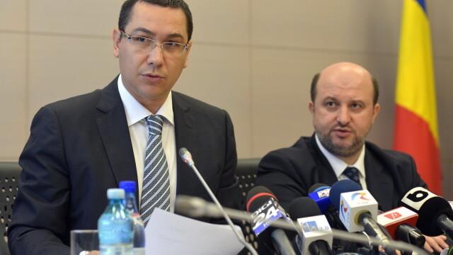 Ponta:Creditorul lui DD scrie romane politiste in Spania. Ministrul Economiei:Vulpescu trebuie demis