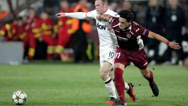 cfr cluj manchester united