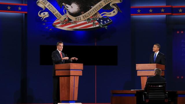 Barack Obama si Mitt Romney