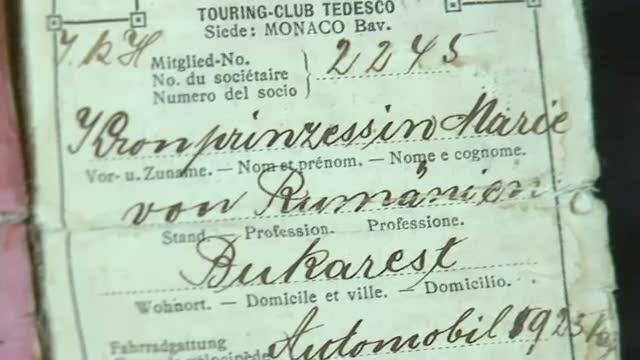 Permisul de conducere al Reginei Maria, vandut cu 5.000 de euro, la o licitatie de obiecte regale
