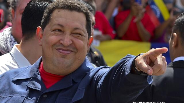 Hugo Chavez anunta o recidiva a cancerului de care sufera