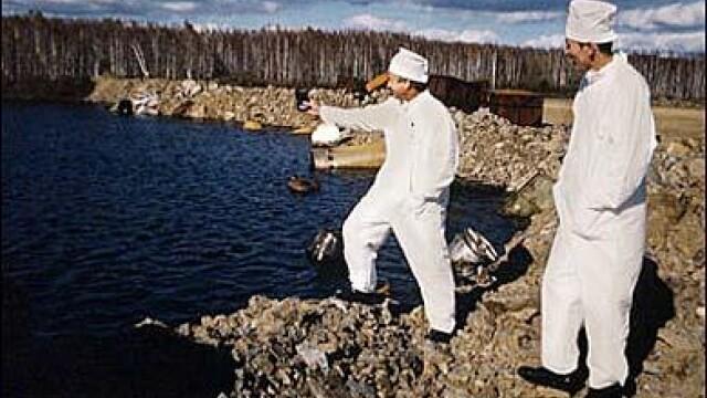 lacul Karachay, cel mai poluat loc din lume