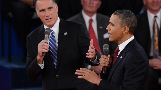 Obama-ofensiv,Romney-evaziv.Cea de-a doua dezbatere pentru Casa Alba,dominata de actualul presedinte