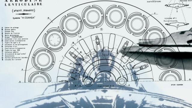 aerodina lenticulara, inventie Henri Coanda