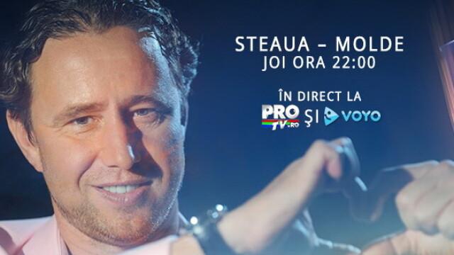 Filmeaza-te si te vezi la ProTV! Arata cum te bucuri la gol si castigi bilete la Steaua - Molde
