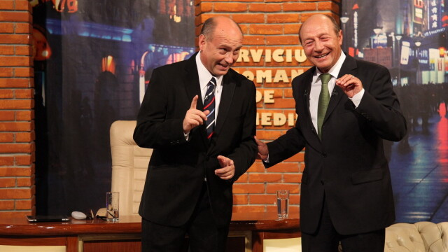 Traian Basescu la Serviciul Roman de Comedie (2013) - 5