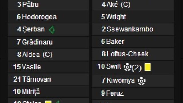Steaua - Chelsea 0-4. Dubla pentru Ramires, gol Lampard, autogol Georgievski - Imaginea 11