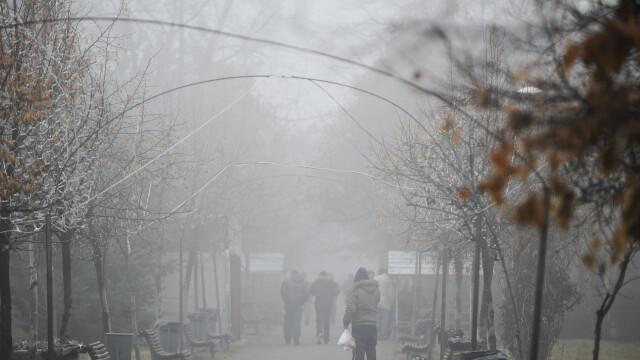 Cod galben de ceata si burnita pana la ora 12:00, in zona Moldovei. Regiunile afectate