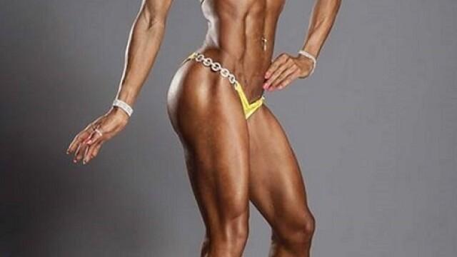 O tanara din Timisoara, campioana la culturism, vrea sa devina Miss world bikini fitness. FOTO - Imaginea 4