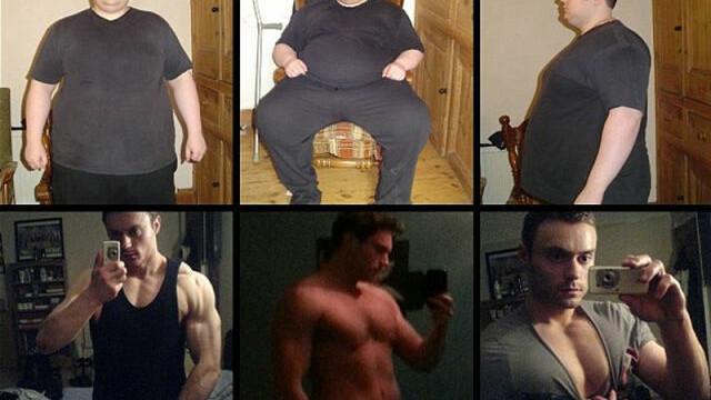 Dintr-un obez cu stari suicidale s-a transformat in barbatul fatal dorit de toate femeile. FOTO - Imaginea 6