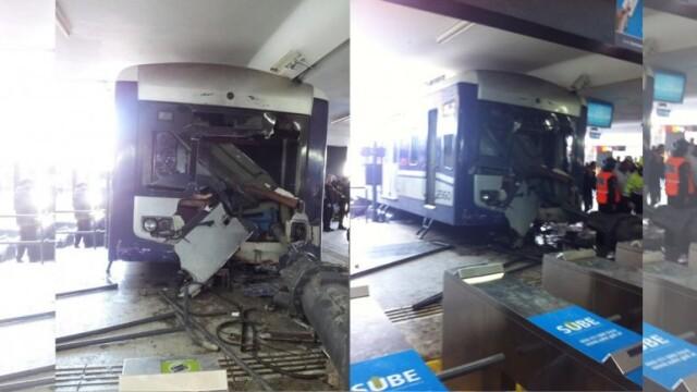 Cel putin 35 de raniti intr-un accident feroviar la Buenos Aires