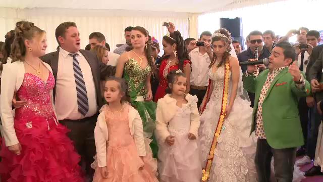 Nunta fiicei autointitulatul rege al tiganilor, umbrita de un zvon lansat de Dorin Cioaba