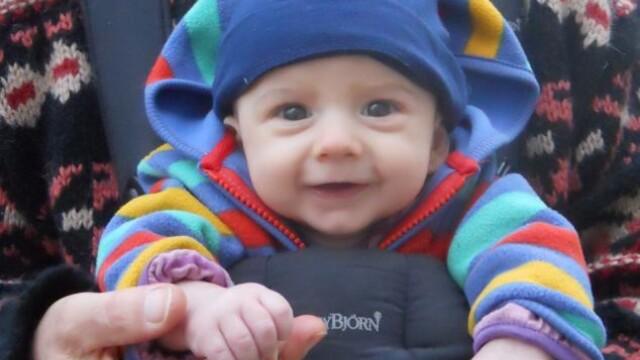 Freddie, primul copil din Marea Britanie nascut datorita unei metode revolutionare
