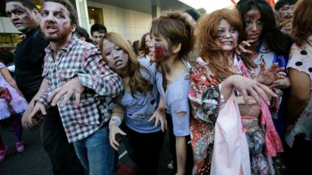 O armata de 1000 de zombi, condusa de Akebono a \