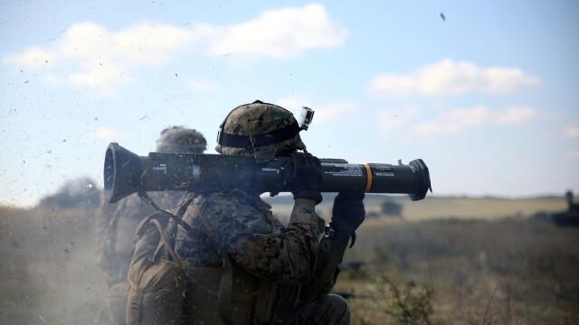 """Soldatii romani au respins un """"ATAC"""" impreuna cu puscasii marini. GALERIE FOTO: cum ne apara aliatii nostri din NATO - Imaginea 14"""