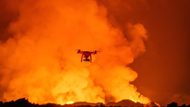Imagini spectaculoase filmate de un GoPro montat pe o drona cu \