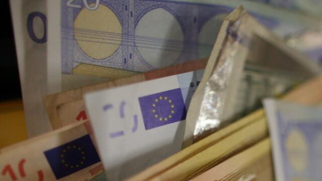 Intr-un oras din Germania a plouat cu bani. Un barbat ascunsese de sotie toate economiil sale, intr-un copac