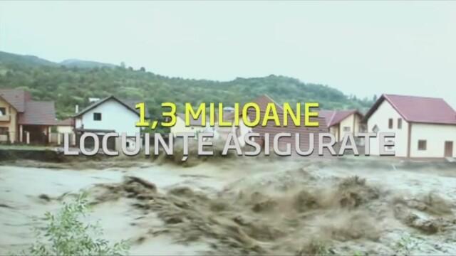 Scenariul negru al asigurarilor. Romanii risca sa nu primeasca despagubiri in caz de cutremur sau inundatii de proportii