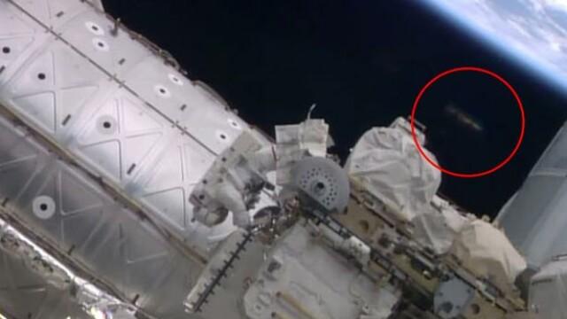 Un obiect zburator neidentificat ar fi fost filmat de NASA langa Statia Spatiala Internationala. VIDEO