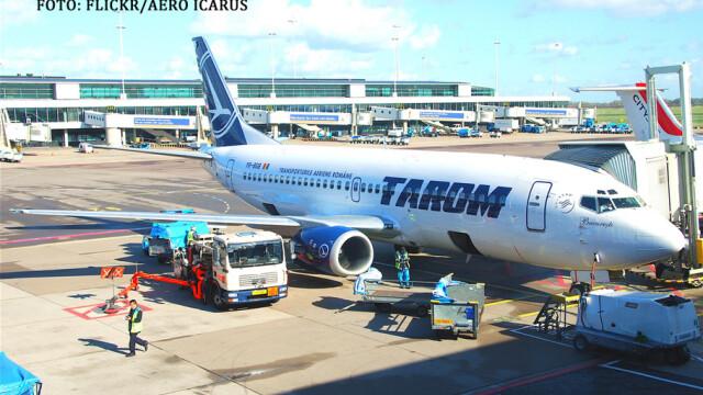 avion TAROM pe Otopeni