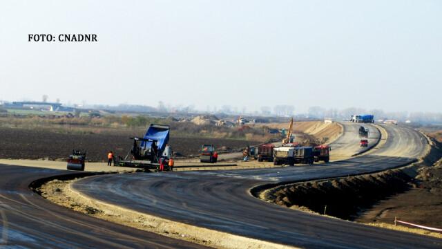 santier autostrada Nadlac-Arad