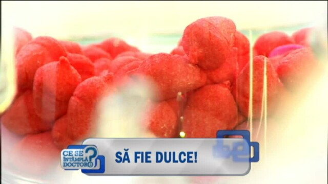 In 10 fructe se poate afla echivalentul a 15 LINGURI de zahar. ce se intampla daca in aceeasi zi mancati o prajitura