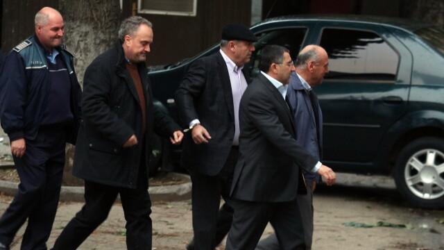 Gabriel Sandu, primarul Gheorghe Stefan, Dorin Cocos si Nicolae Dumitru